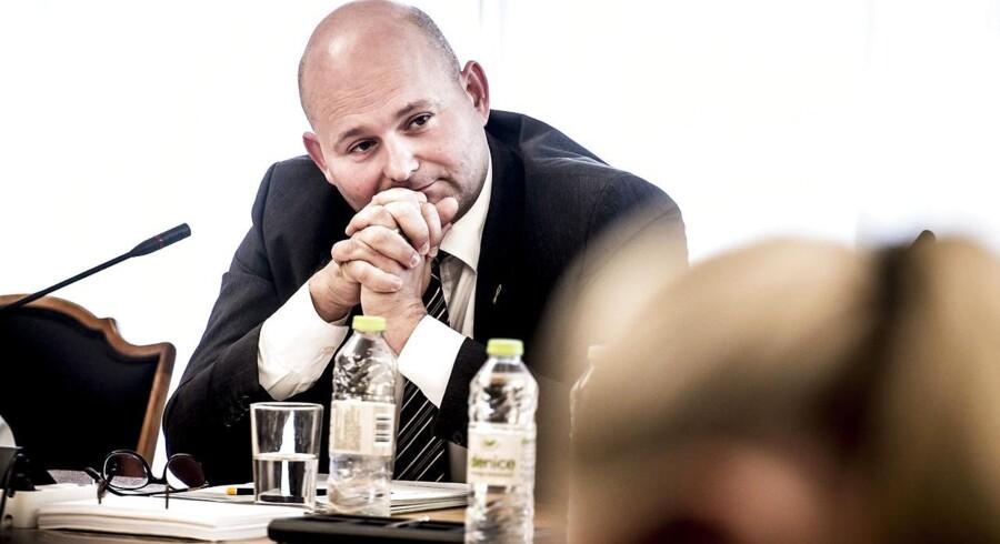 (ARKIV) Justitsminister Søren Pape Poulsen under samrådet om regeringens udspil om ungdomskriminalitet den 14. september 2017. DF vil ikke bakke op om justitsministerens udkast til, hvad den nye Tibetkommission skal undersøge. Det skriver Ritzau, lørdag den 30. juni 2018.. (Foto: Mads Claus Rasmussen/Ritzau Scanpix)
