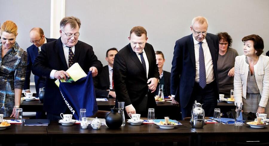 Trepartsforhandlingerne er afsluttet. Arkivfoto.