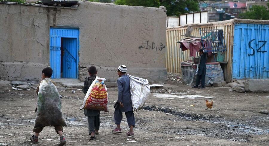 Billede fra Kabul, Afghanistan.