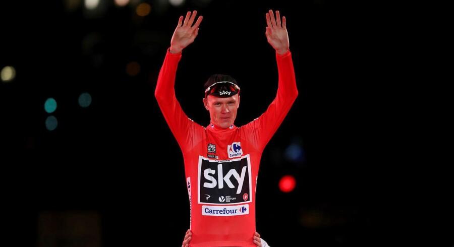 Chris Froomes (Sky) store drøm om at lave en grand tour-double gik i opfyldelse søndag, da han vandt Vuelta a España efter at have vundet Tour de France tidligere på året.