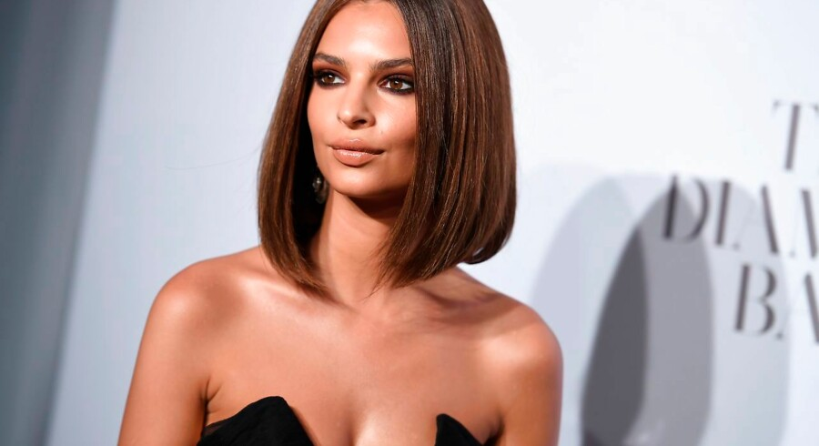 Emily Ratajkowski attends Rihanna's 3rd Annual Diamond Ball benefitting The Clara Lionel Foundation at Cipriani Wall Street on September 14, 2017 in New York City. / AFP PHOTO / ANGELA WEISS