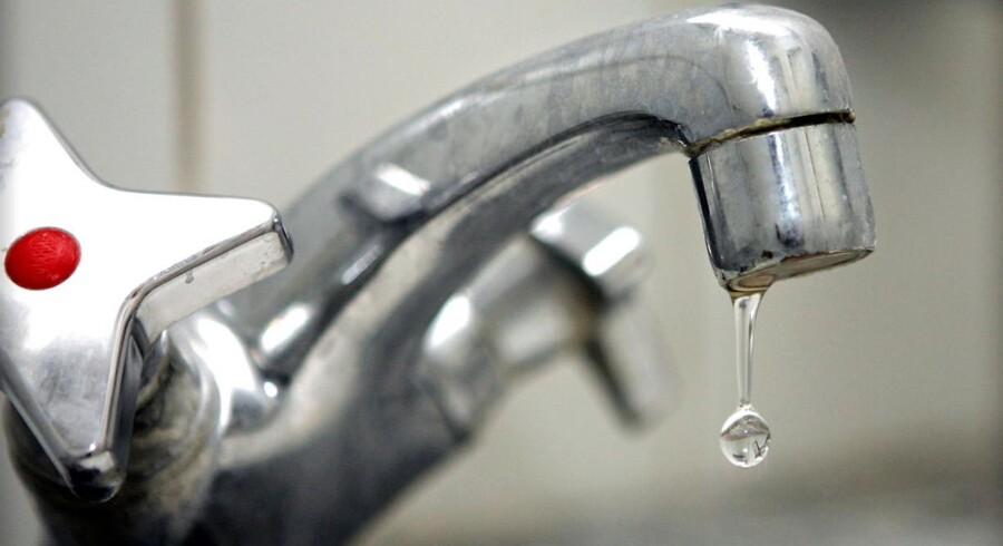 Det hårde vand giver flere dryppende vandhaner og tilstoppede vaskemaskiner