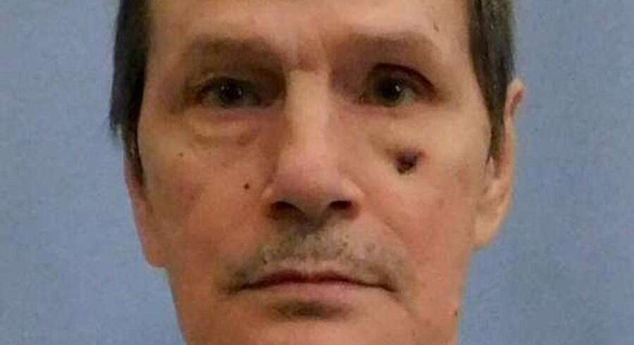 Delstaten Alabama måtte i februar afbryde henrettelsen af Doyle Lee Hamm, fordi man ikke kunne finde en blodåre til sprøjten. Handout/arkiv/Reuters