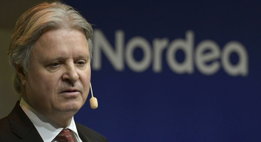 Nordeas topchef Casper von Koskull Foto: Janerik Henriksson / TT. (Foto: 10010 Janerik Henriksson/TT/Scanpix 2017)