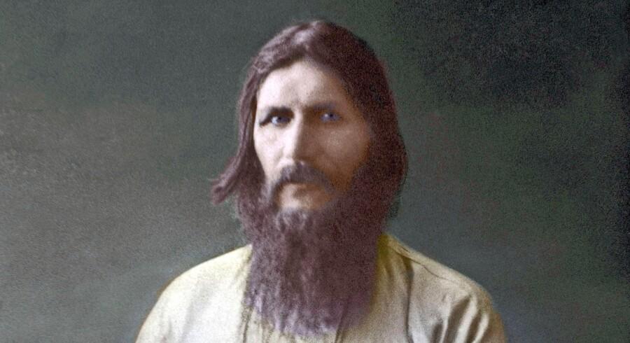 Måske deltog en britisk agent i drabet på Grigorij Rasputin (1869-1916). Maleri: Privat samling/AFP