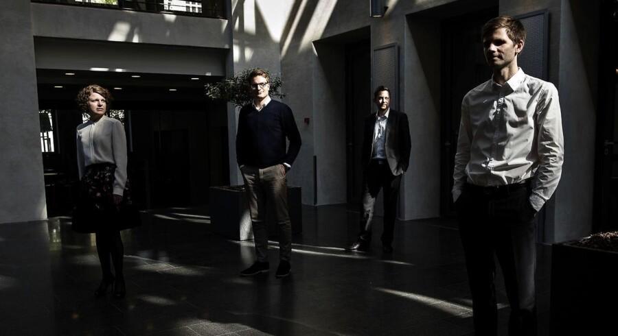 For mange danske virksomheder er den evige jagt efter de dygtigste talenter blevet hverdag. »Vi er en people business. Så det eneste, vi kan konkurrere på, er at have dygtige medarbejdere,« chef for HR og kommunikation i Cowi, Thomas Hall.