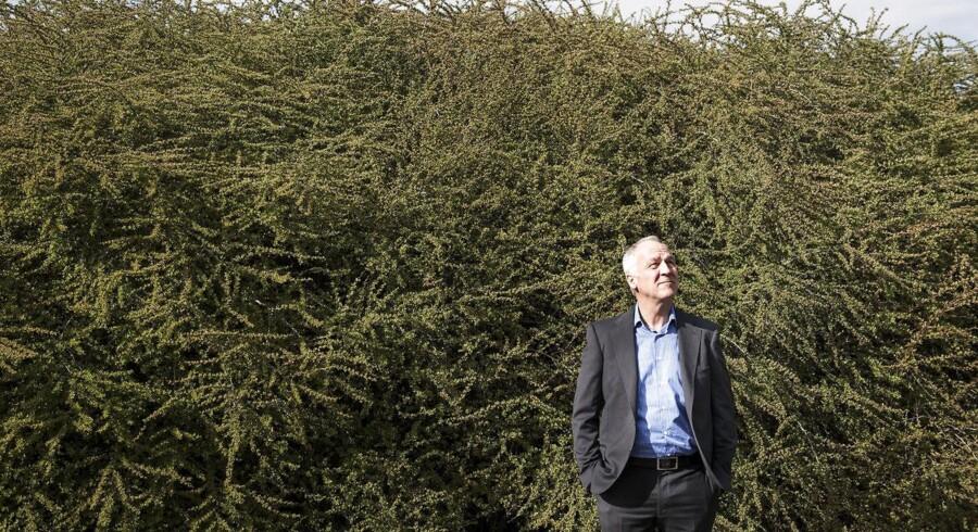 Peter Buhl Jensen forsøger at tiltrække pensionskasser med et bryllup mellem sine to biotekselskaber. Arkivfoto: Sofie Mathiassen