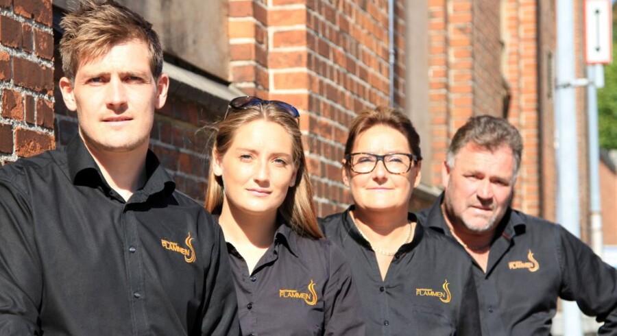 Familien bag Restaurant Flammen åbner året med restaurantåbninger.
