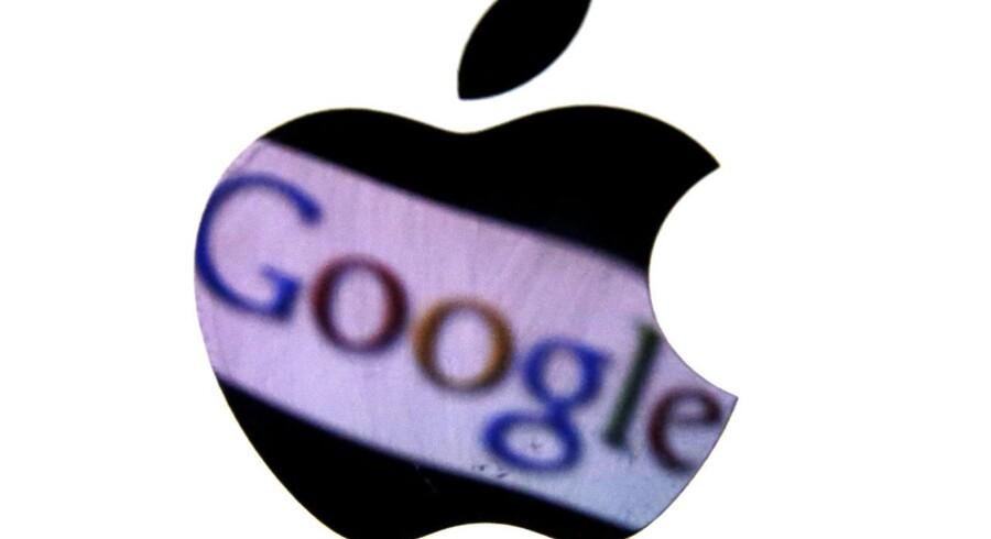 Otte gange til Mars eller rettigheder til smartphone-industrien? 115 mia. kr. har Google, Apple og Co. brugt på patenter og opkøb de seneste to år.