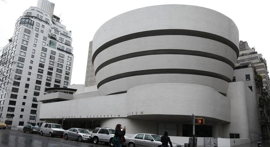 Guggenheim Museum i New York - et af de nye steder man kan vandre rundt og se på kunst via Google Art Project.