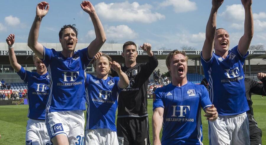 Lyngby får lov at fortsætte i Superligaen.