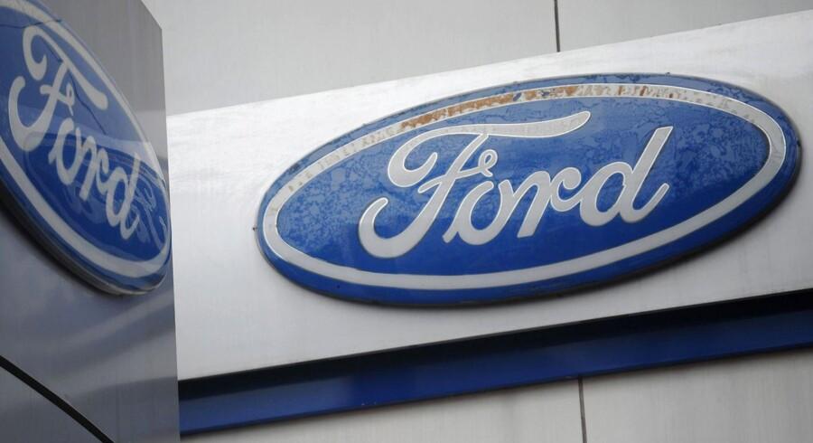 Den amerikanske bilgigant Ford Motor Companys overskud steg 44 pct. i andet kvartal, og det kom bag på analytikerne.
