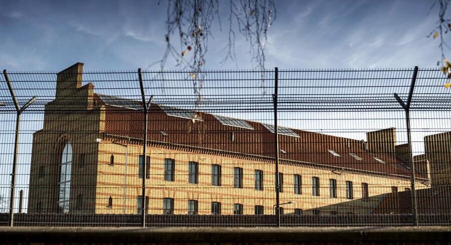 Vestre fængsel, hvor Peter Madsen sidder fængslet.