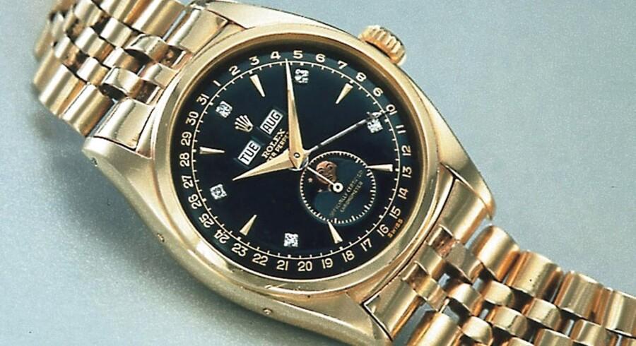 Specialudgaver af Rolex-ure kan koste flere hundredetusinde kroner - kopierne lokker med væsentligt lavere priser.
