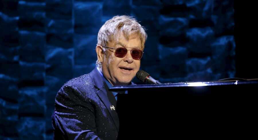 "Elton John udgav i år albummet ""Wonderful Crazy Night"". Reuters/Mike Segar"