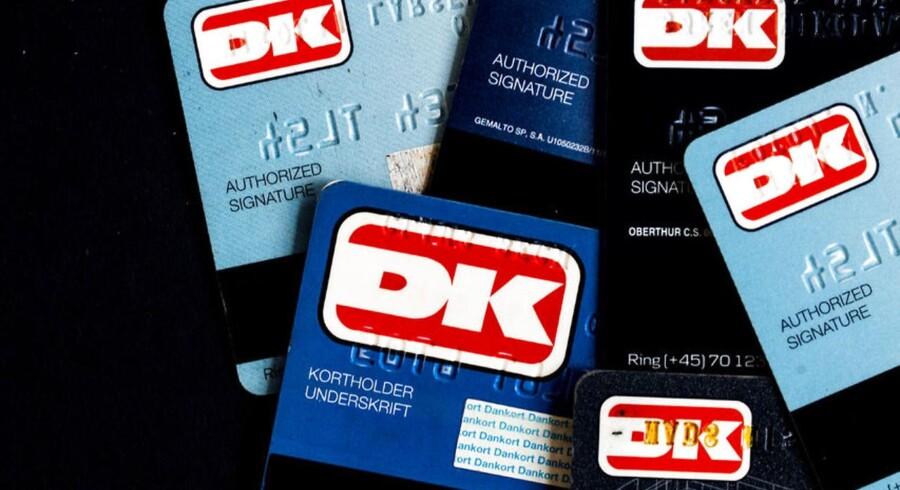 Hvis mange vælger at betale med visadelen af deres dankort, kan priserne stige, advarer Forbrugerrådet. (Foto: Nikolai Linares/Scanpix 2014)