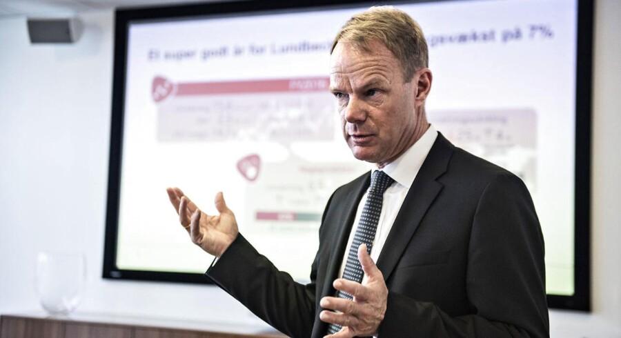 Tidligere topchef i Lundbeck Kåre Schultz - nu topchef i Teva. (Foto: Ida Guldbæk Arentsen/Scanpix 2017)
