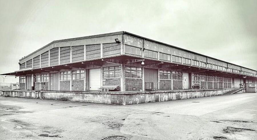Denne gamle industrihal ved Kløvermarken på Amager skal forvandlles til et nyt spillested.