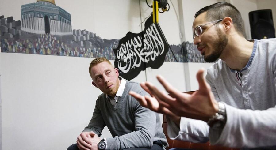 Berlingske var med, da Hizb ut-Tahrir lørdag holdt møde.