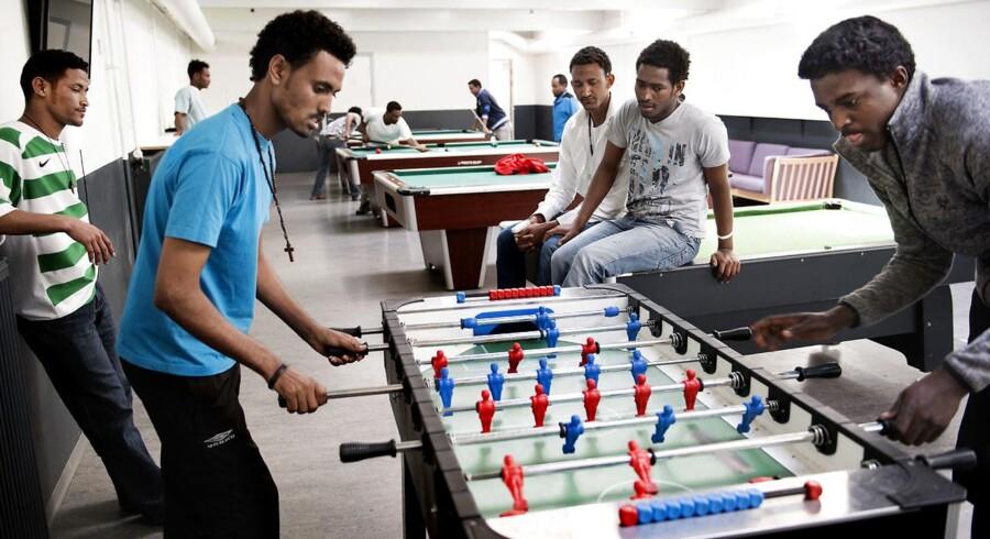 I 2014 indførte Udlændingestyrelsen asylstop for asylansøgere fra Eritrea efter en markant vækst i antallet af asylansøgere fra det lille nordøstafrikanske land. Billedet er fra Asylcenter Sigerslev, der har huset mange flygtninge fra Eritrea.
