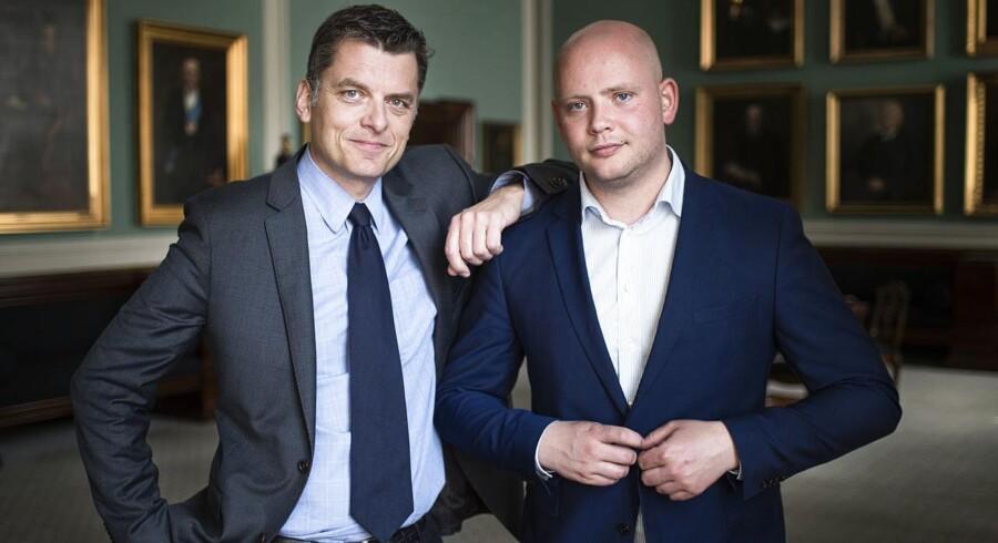 Jan E. Jørgensen (til venstre) forstår ikke sine kolleger i både Venstre og flere andre partier.