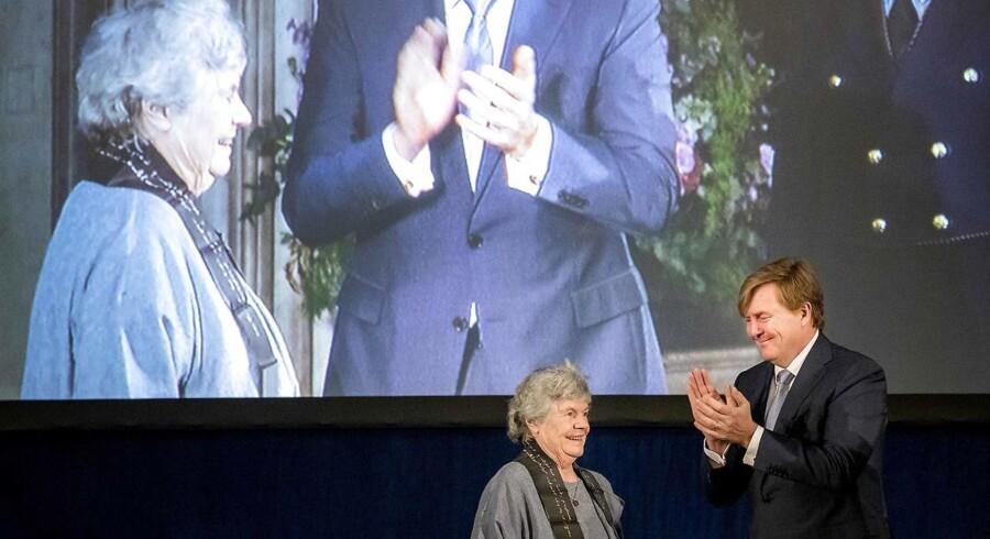 Arkivfoto: Den britiske poet og forfatter Dame Antonia Susan Byatt får mandag Hans Christian Andersen Literature Award 2018.