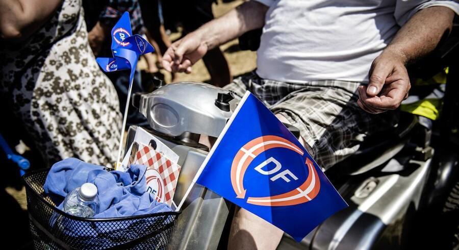 Jens Hald overvejer nu at forlade Dansk Folkeparti. Arkivbillede Folkemøde på Bornholm 2015. Fredag d. 12. juni.