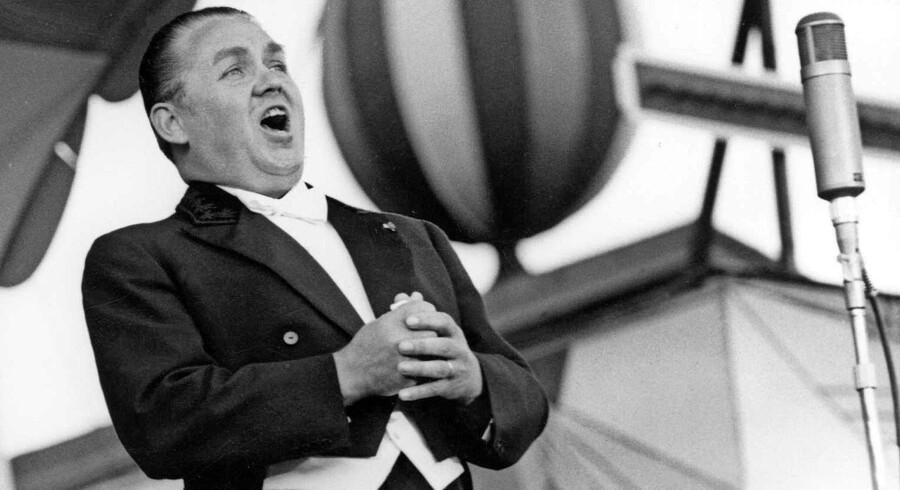 USA og Danmark var de to lande, Jussi Björling besøgte flest gange. Den svenske tenor var især glad for Tivoli og sang der i en lang periode hver eneste sommer. Foto: Scanpix