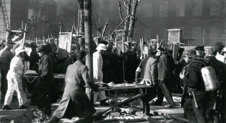 Det britiske luftvåbens aktion for at ødelægge Gestapos hovedkvarter i Danmark slog delvis fejl og dræbte omkring 125 uskyldige mennesker – hovedageligt børn på Den Franske Skole i København.