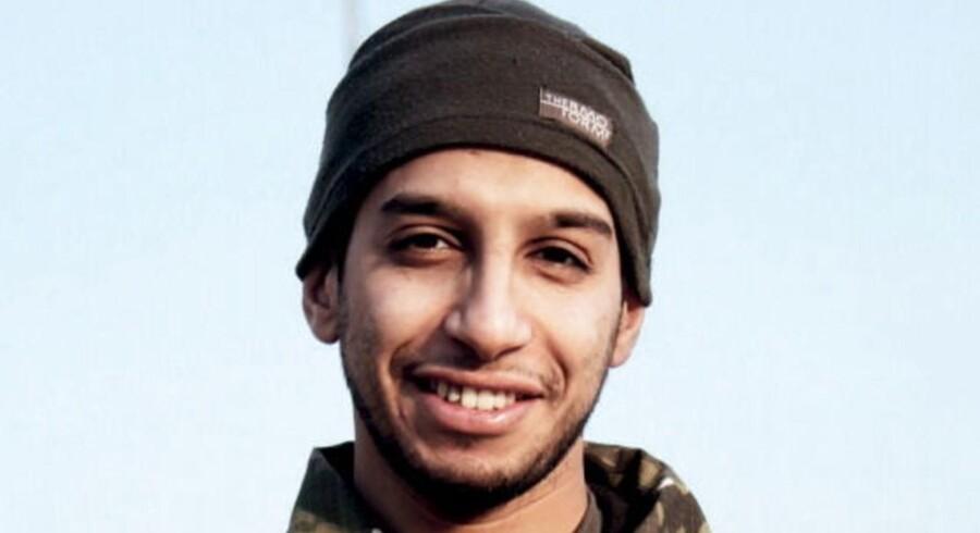 Et udateret foto af belgiske Abdelhamid Abaaoud, som menes at være hovedmanden bag fredagens angreb i Paris.