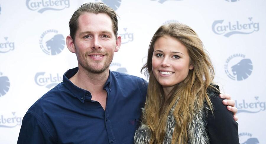 Rasmus Seebach og kæresten Julie skal være forældre.