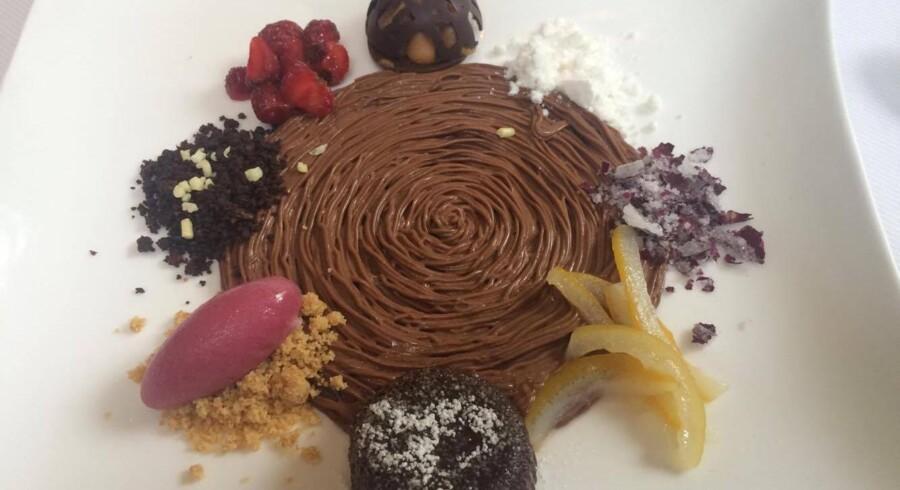 Nogle af de retter, som journalist Mads Sixhøj spiste på restauranterne Le Bernardin og Jean-Georges på sin private ferie til New York, var rene kunstværker. Foto: Mads Sixhøj