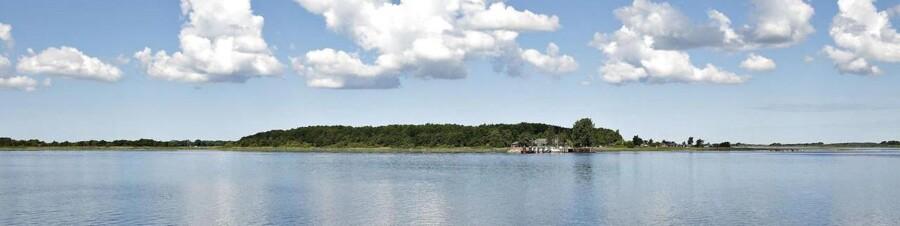 Egholm i Limfjorden. Arkivfoto