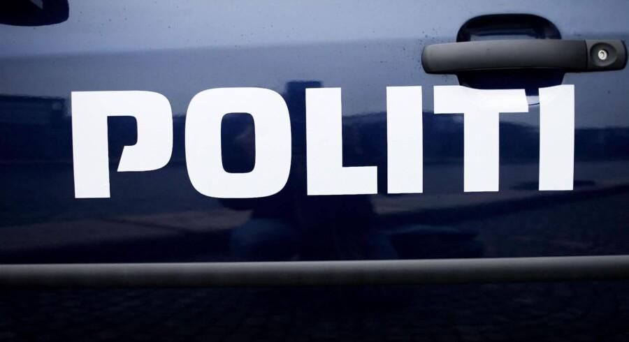 Vestegnens Politi har tømt et tog på Høje Taastrup i eftersøgningen efter en muligt bevæbnet person. (arkivfoto) Free/Pressefoto Rigspolitiet