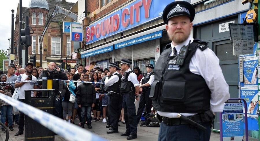 Billede fra situationen i London d. 4 juni.