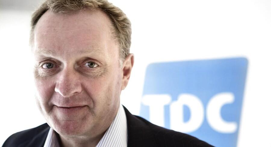 TDCs topchef, Carsten Dilling, vil jagte omsætning ved at lade TDC indgå i en konsolidering.