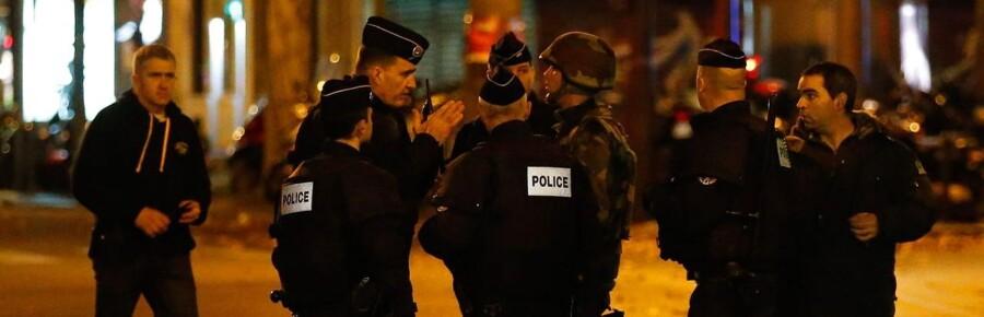 Fransk politi har natten over udført flere aktioner mod formodede medskyldige i Frankrig.