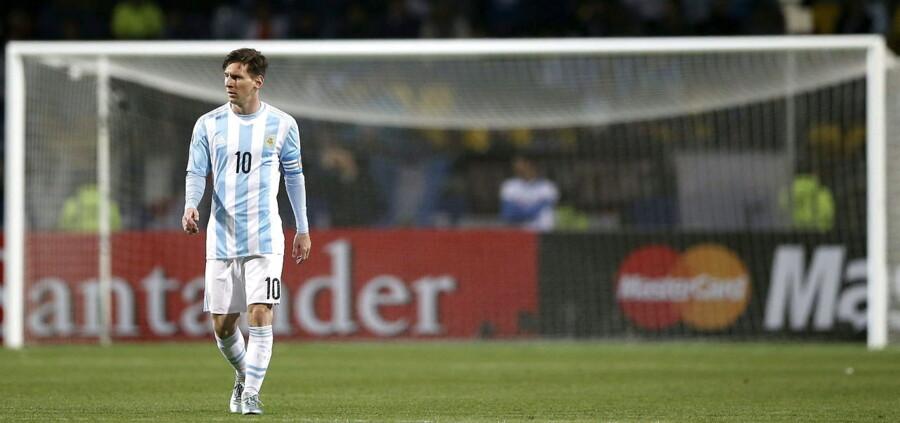 Lionel Messi er Argentinas største stjernespiller ved Copa America.