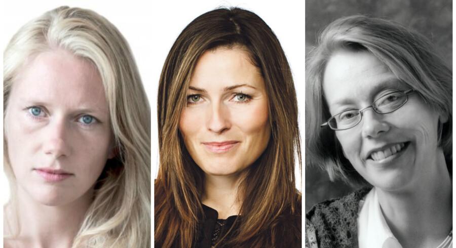 Marie Høgh, Anne Sophia Hermansen og Edith Thingstrup.