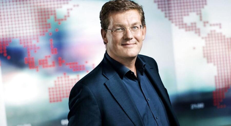 Jacob Nybroe bliver ny ansvarshavende chefredaktør for Jyllands-Posten, skriver JP/Politikens Hus i en pressemeddelelse. Han afløser Jørn Mikkelsen. Pressefoto fra TV2, 2.september 2010 af Jacob Nybroe.