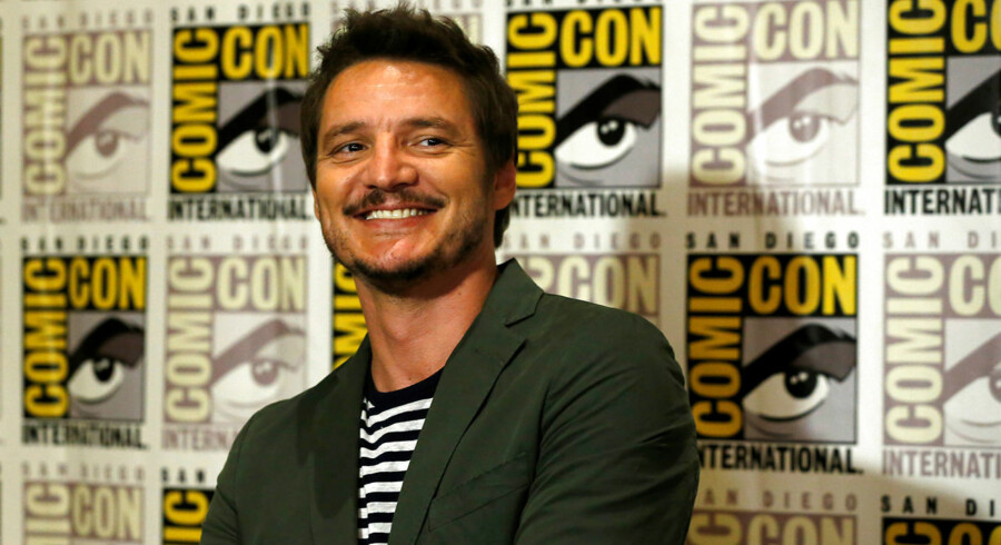 "Cast member Pedro Pascal poses at a press line for ""Kingsman: The Golden Circle"" during the 2017 Comic-Con International Convention in San Diego, California, U.S., July 20, 2017. REUTERS/Mario Anzuoni"