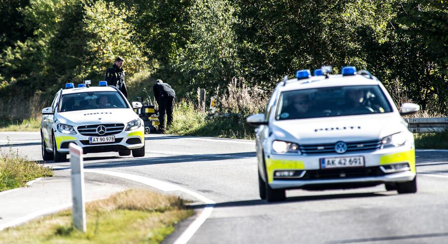 Arkivfoto: Politiet fandt sent mandag aften liget af en mand i Hornbæk i Nordsjælland.. /ritzau/