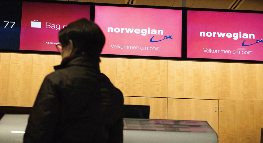 Arkivfoto: I marts 2015 betød en strejke blandt Norwegians piloter, at selskabet aflyste en lang række afgange. Københavns Lufthavn, onsdag d. 4. marts, 2015.