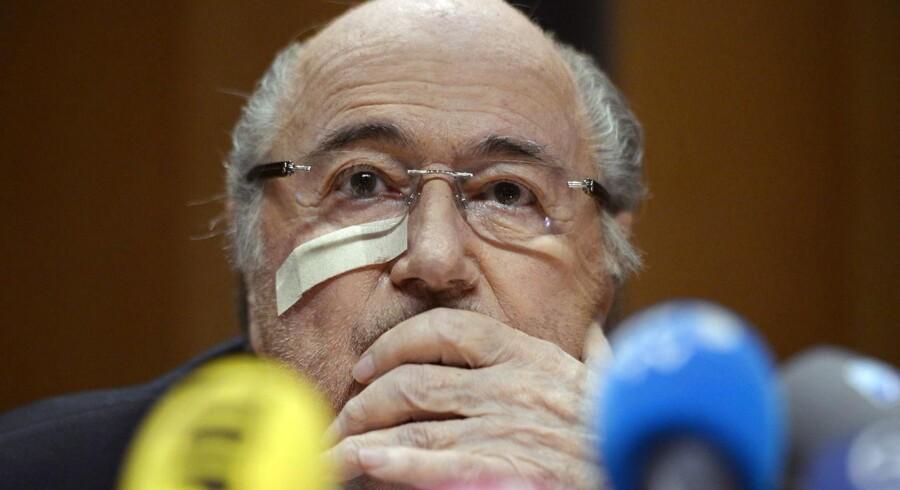 Sepp Blatter og Paltini er velkomne i Rusland.