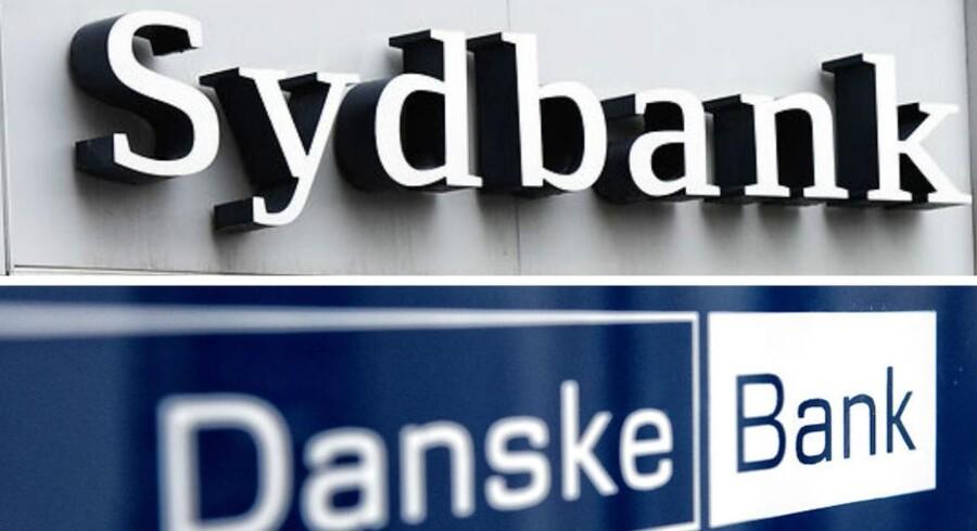 """Sydbank har genoptaget dækningen af Danske Bank med anbefalingen """"køb""""."""