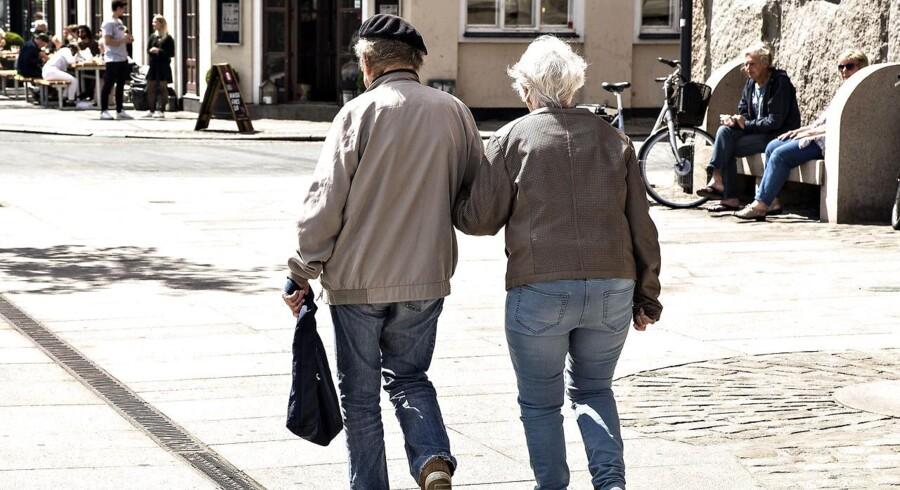 Den nye skattereform fokuserer på øget fradrag, men det er »en lang næse« til pensionisterne, mener Bjarne Hastrup fra Ældre Sagen. (Arkivfoto. Foto: Henning Bagger/Scanpix 2017)