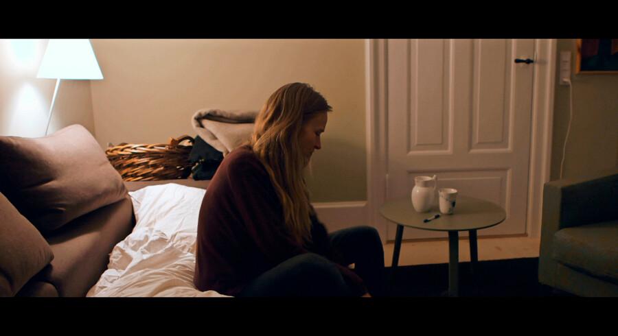 Christina Rosendahl følger i sin dokumentarfilm fem kvinder, der har søgt tilflugt på krisecenteret efter partnervold, gennem fem år. Foto: PR