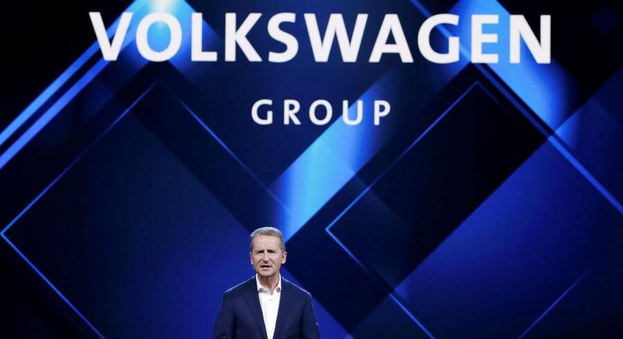 Herbert Diess, Volkswagens nye CEO.