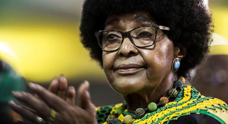 (ARKIV) Winnie Mandela.