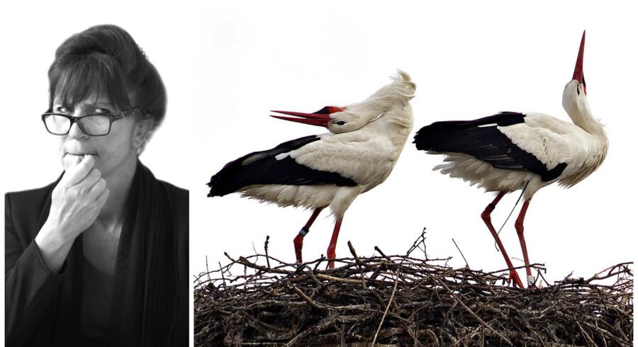 »Ressourcestærke kvinder skal ikke have donorbørn for skatteborgernes penge.« Var det dét, I mente? Sikkert, men det er jo ikke nær så sjovt, og man kan ikke lade være med at tænke på de ressourcesvage kvinder, som måske godt må få den dér sæd?«. Susanne Staun revser medierne for deres sprogbrug i dagens klumme. Foto: Ida Marie Odgaard og Nils Meilvang
